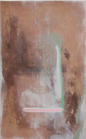 Daniel Schubert – untitled – 2011/2012 oil paint, acrylic paint on canvas 130 x 80 cm