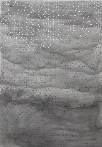 Daniel Schubert – untitled – 2011 mixed media on canvas 150 x 110 cm