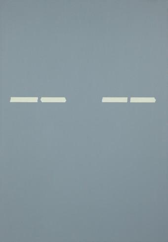 Daniel Schubert – untitled 2014 – oil paint on canvas 150 x 105 cm