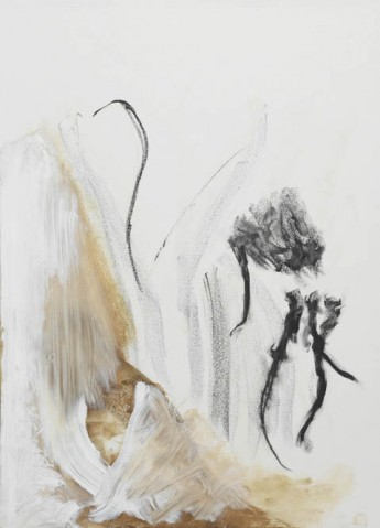 Daniel Schubert – Smile – 2010 – oil paint, oil stick on paper 60 x 43 cm