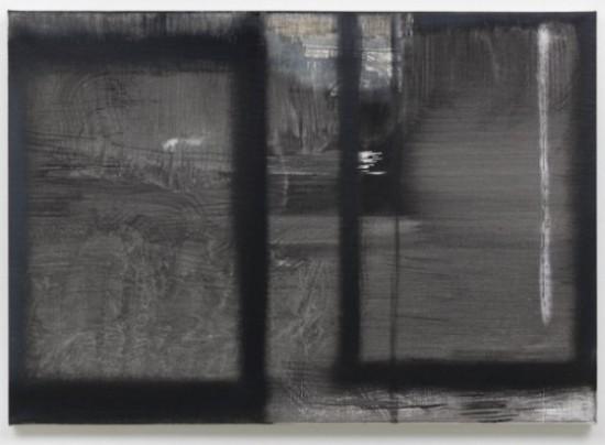 Daniel Schubert – untitled 2013 – oil paint, acrylic paint on canvas 80 x 56 cm