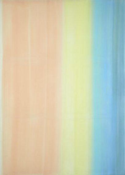 Daniel Schubert – untitled 2013, Egg tempera on Canvas 210 X 150 cm